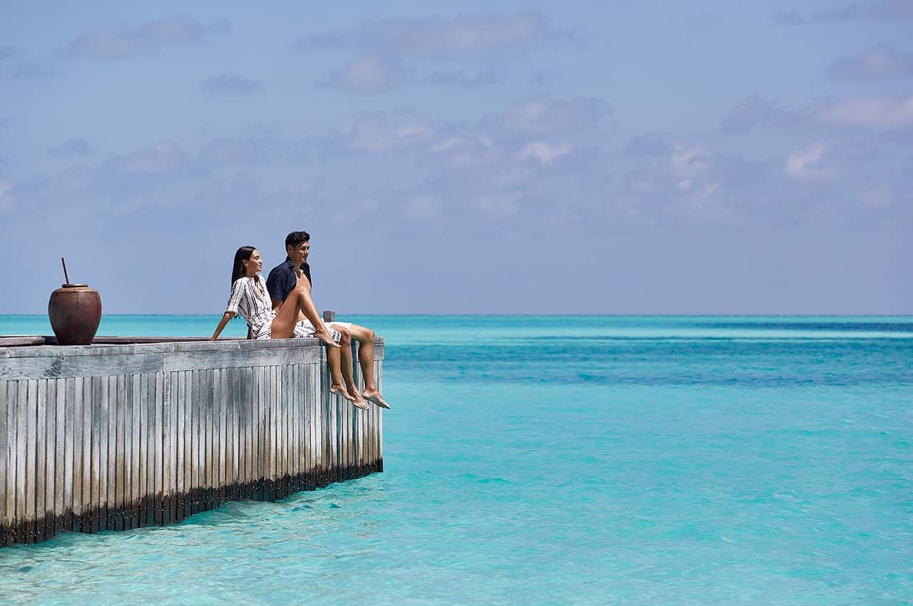 Conrad maldives rangali island casal