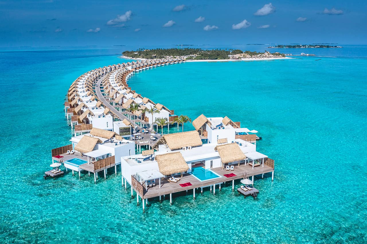Emerald maldives vista aerea