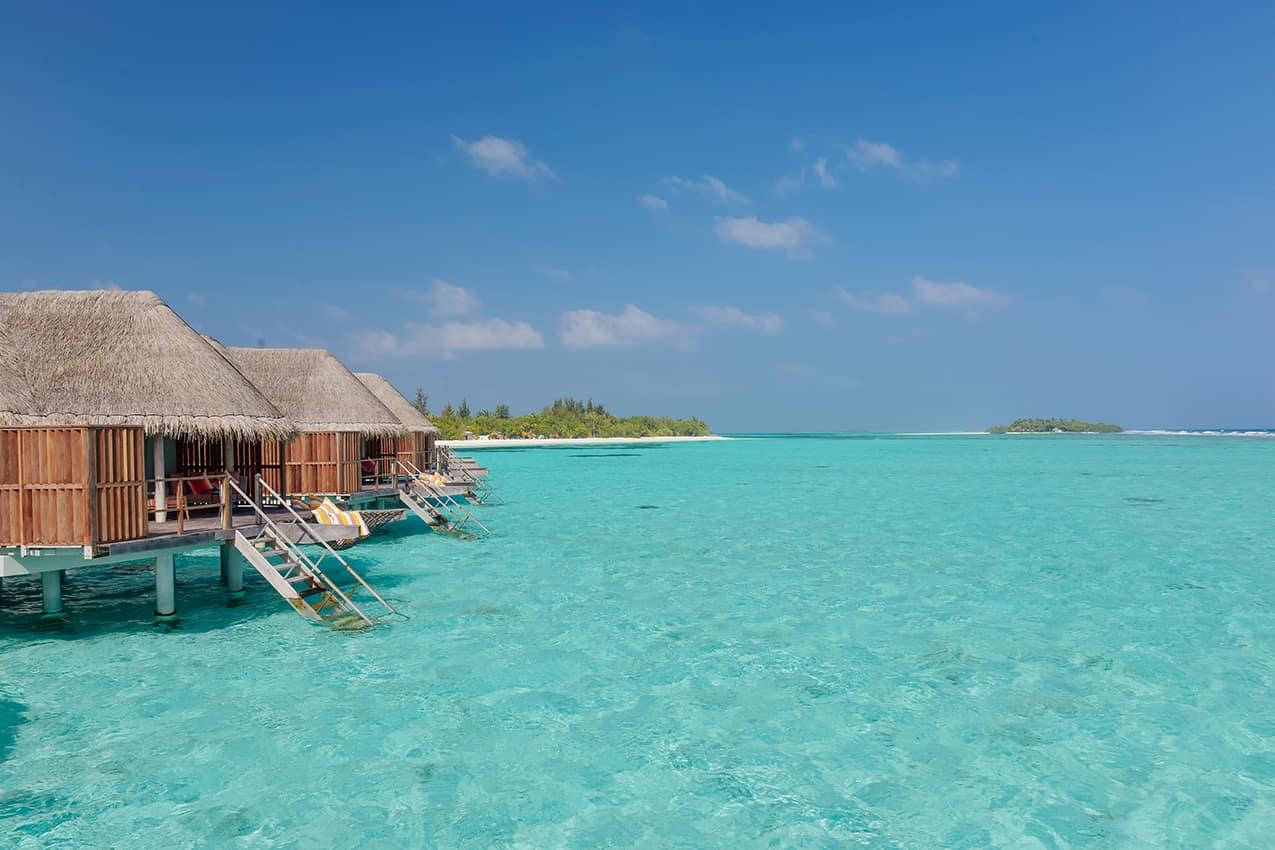 Exterior Water Villa Kanuhura Maldives