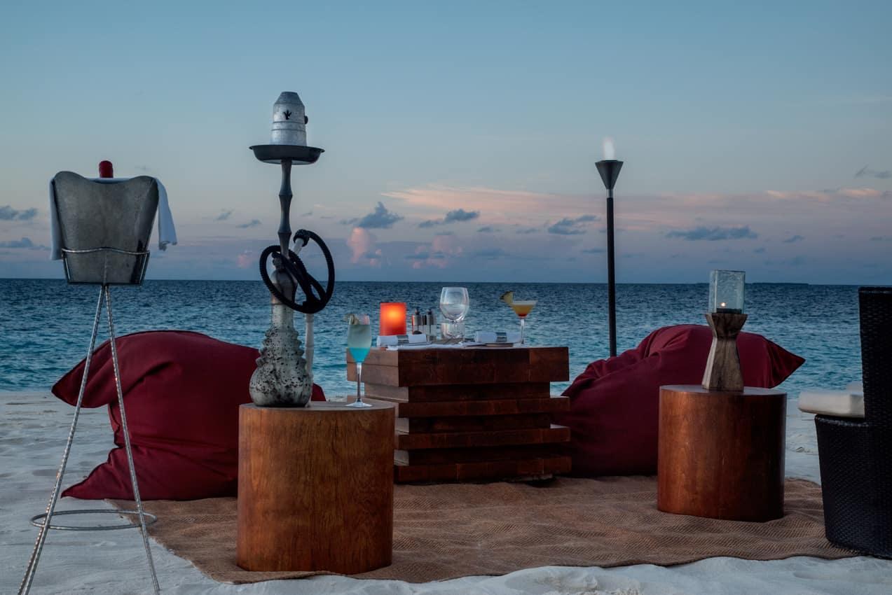 Jantar privado, Park Hyatt Maldives Hadahaa, Ilhas Maldivas
