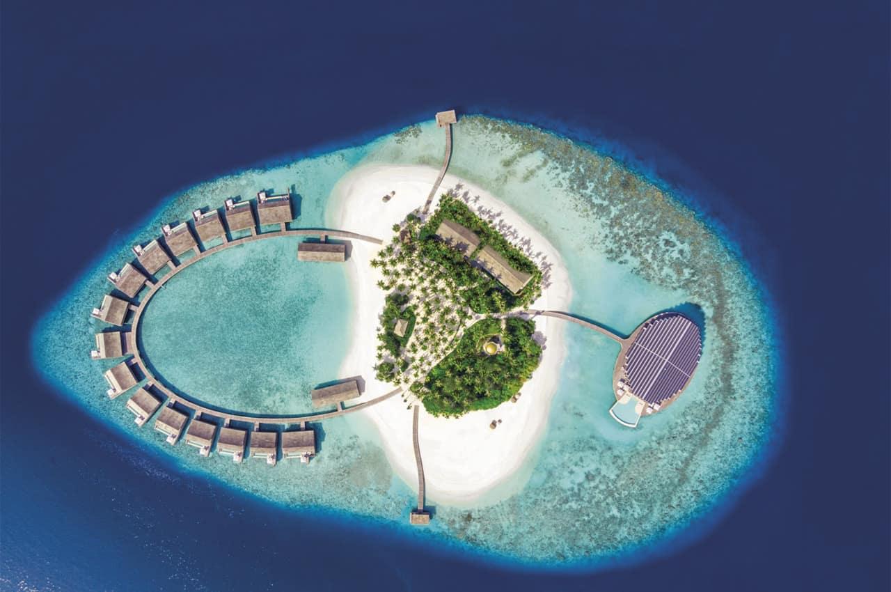 Kudadoo maldivas vista aerea