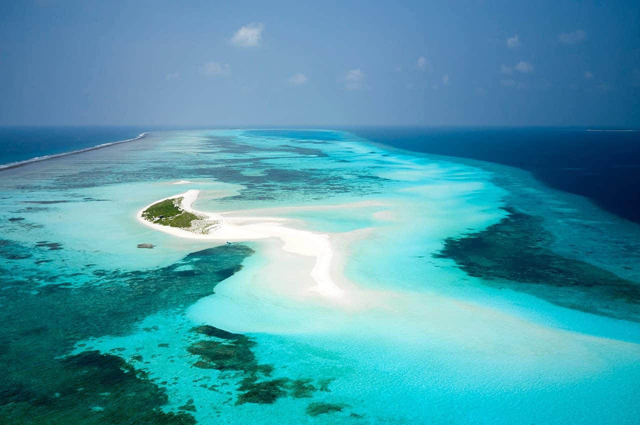 Le meridien maldives banco de areia
