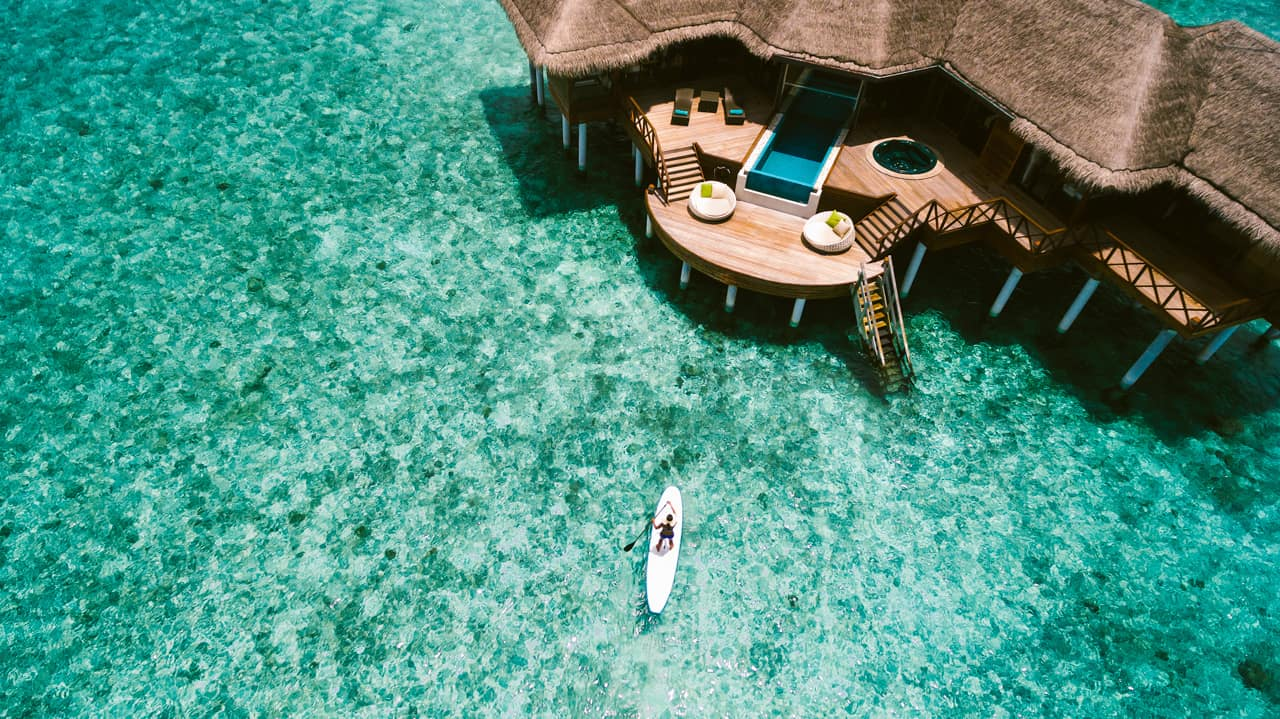 Ocean pavilion, PER AQUUM Huvafen Fushi, Ilhas Maldivas
