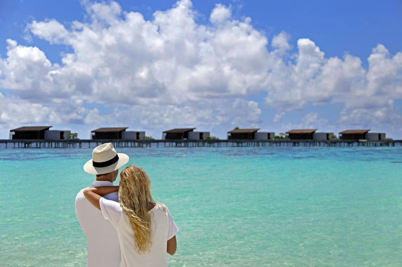 Park hyatt maldives hadahaa casal