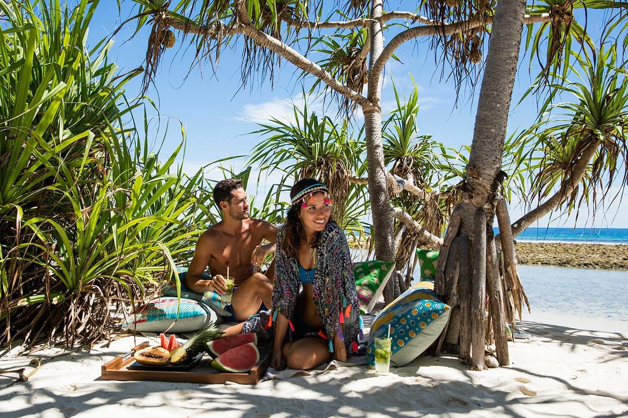 Piquenique Kanuhura Maldives