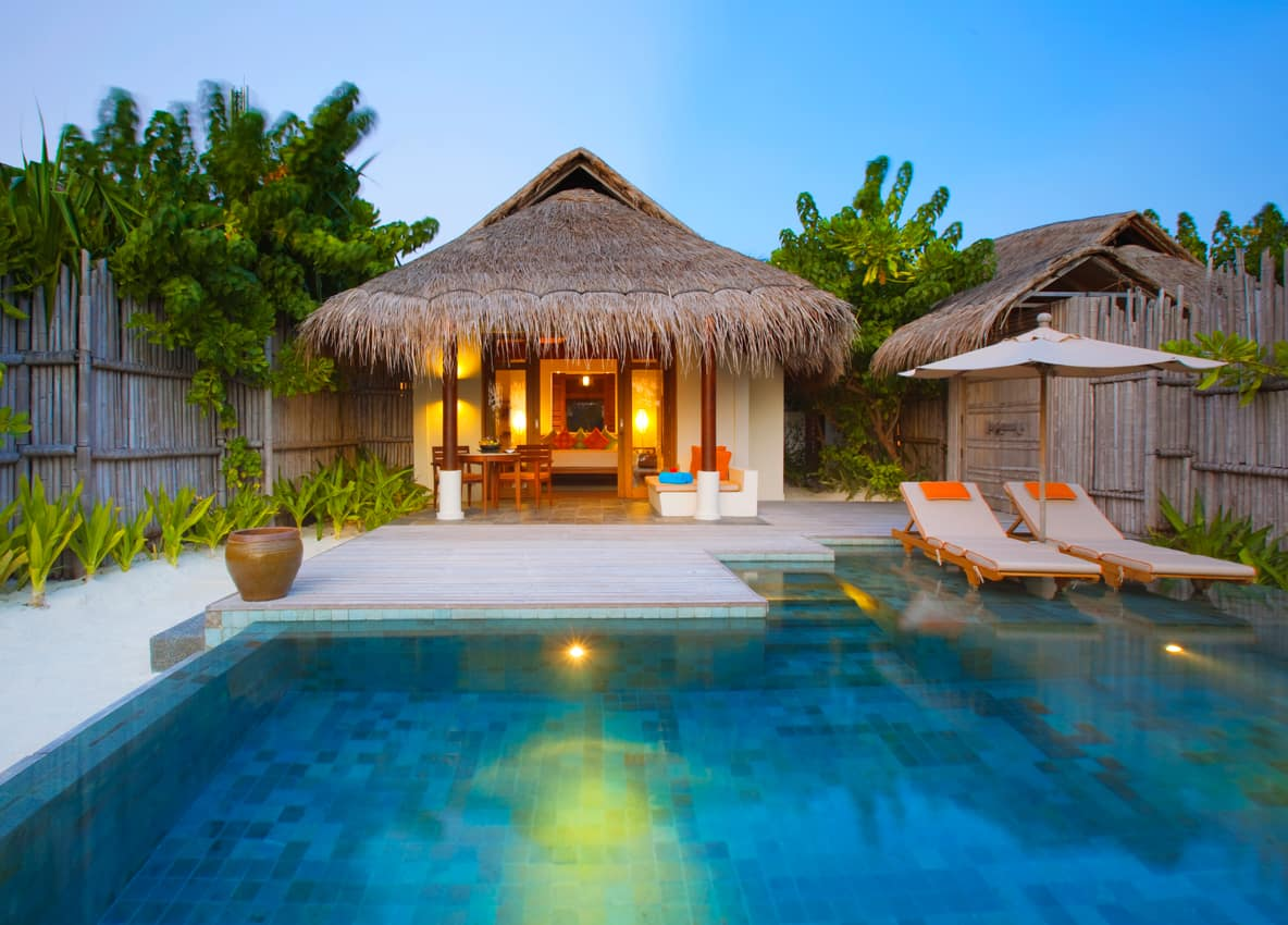 Pool villa, Anantara Dhigu, Ilhas Maldivas