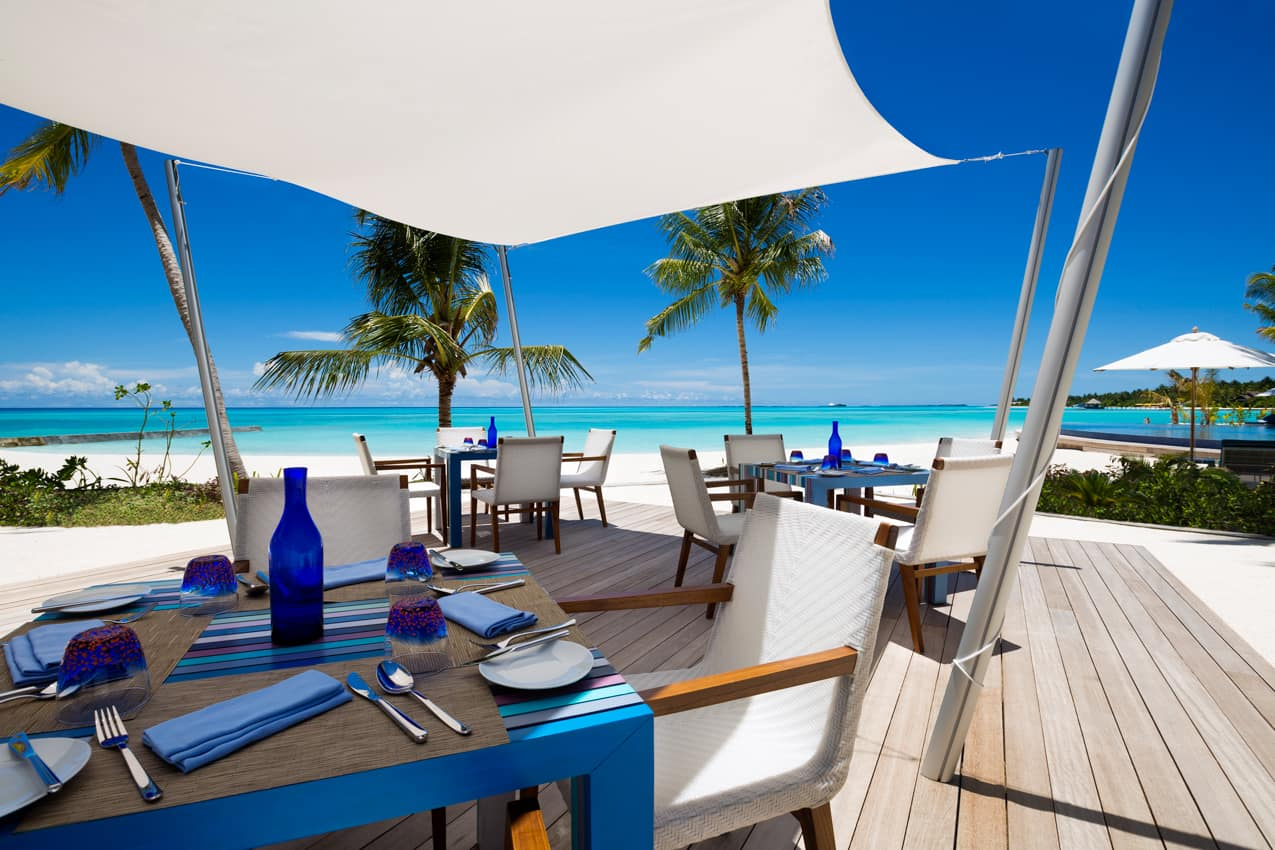 Restaurante Blu, PER AQUUM Niyama, Ilhas Maldivas