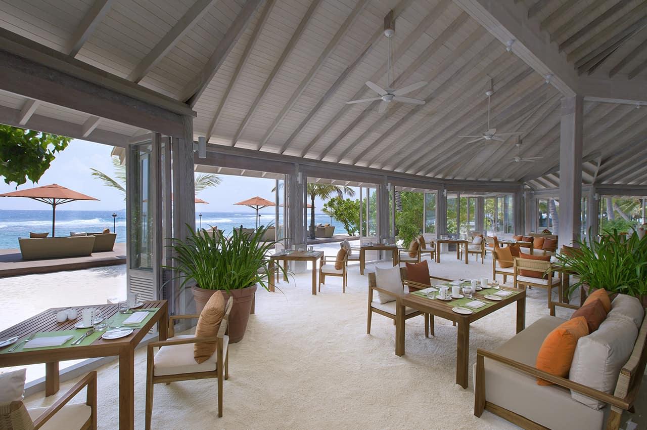Restaurante Degrees no Anantara Veli