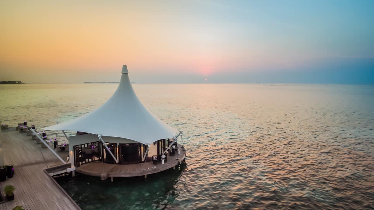 Restaurante Edge, PER AQUUM Niyama, Ilhas Maldivas