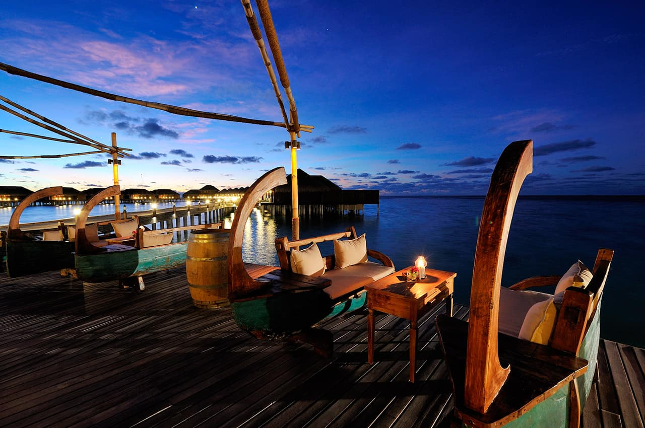 Restaurante Ile de Joie, Ayada Maldives
