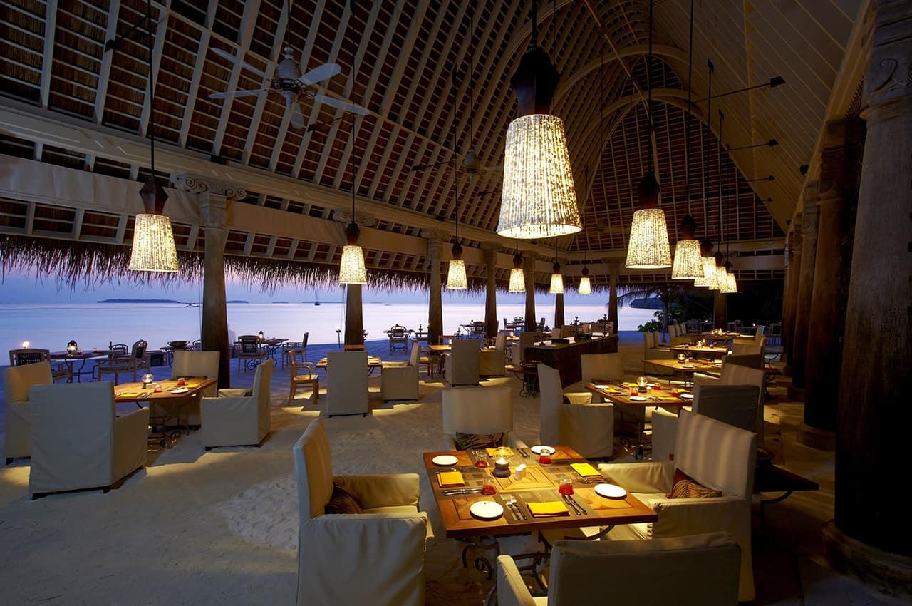 Restaurante Plates no Anantara Kihavah
