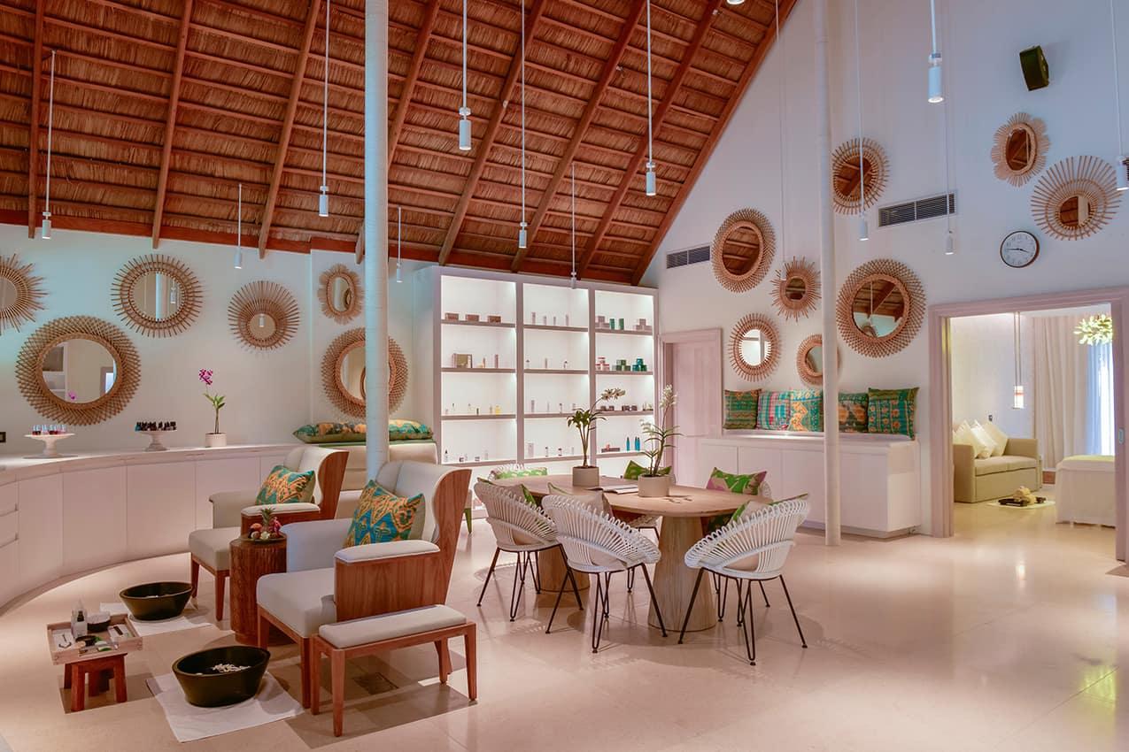 Salão e Spa Kanuhura Maldives