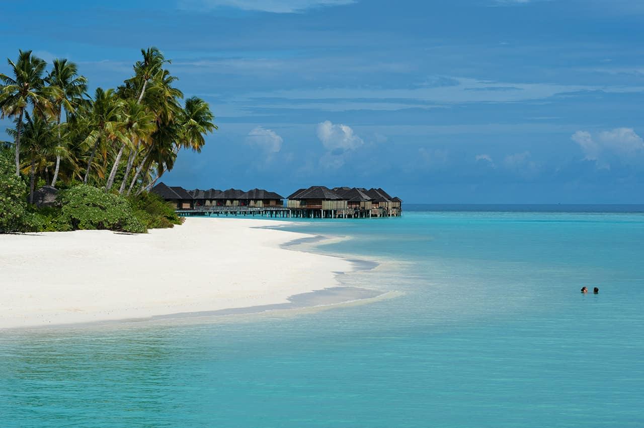 Sun siyam iru fushi maldives praia