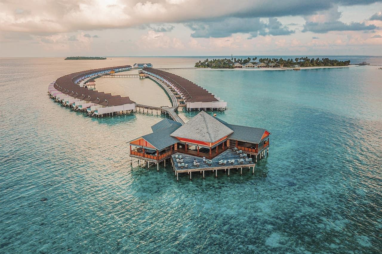 The standard huruvalhi maldives aereo