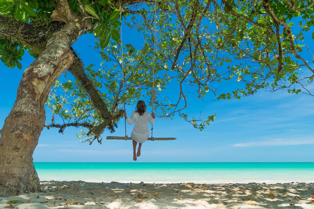 Viagem férias praia Ilhas Maldivas