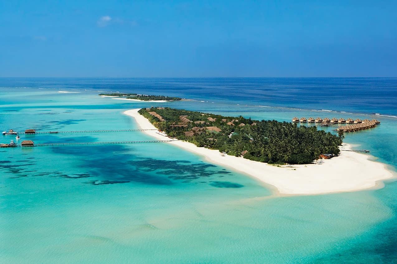 Vista aérea Kanuhura Maldives