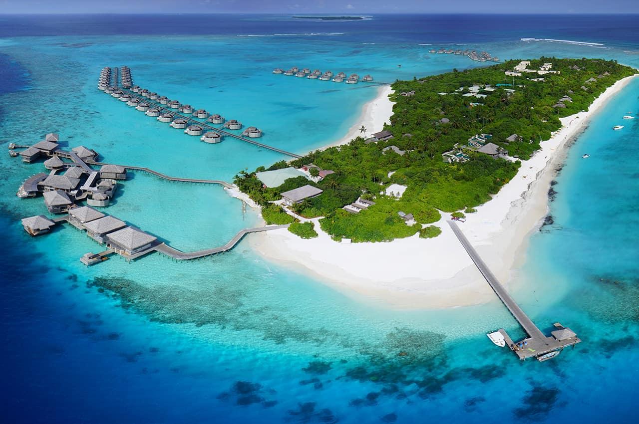 Resultado de imagem para six senses laamu maldives