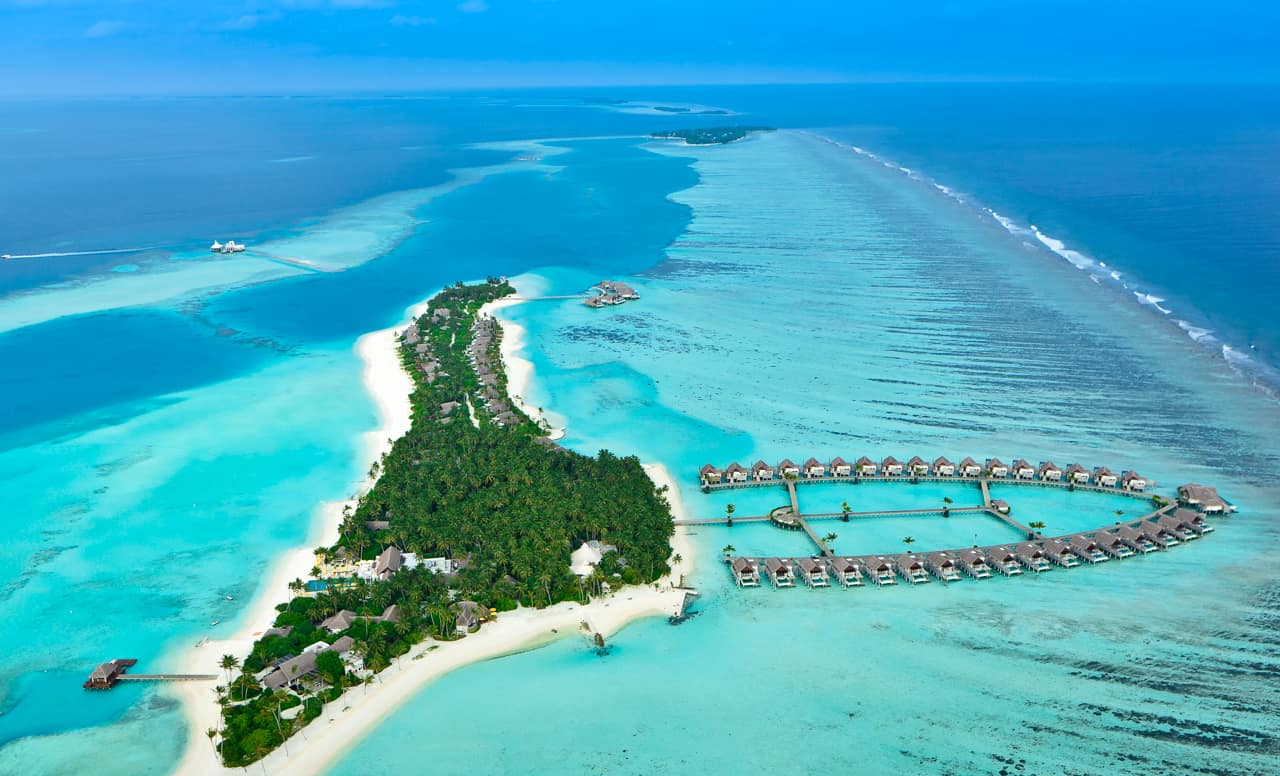 Vista aérea PER AQUUM Niyama, Ilhas Maldivas