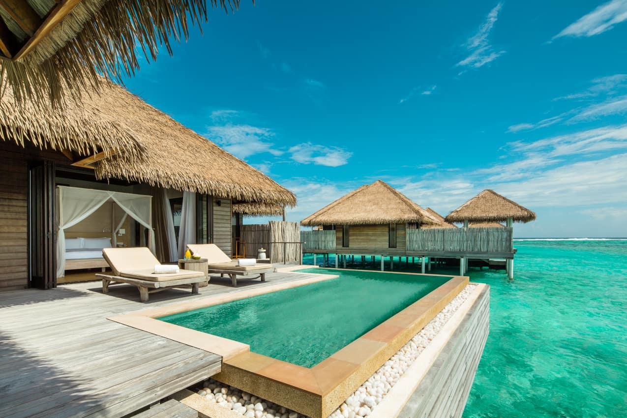 Water villa, Maalifushi by COMO, Ilhas Maldivas