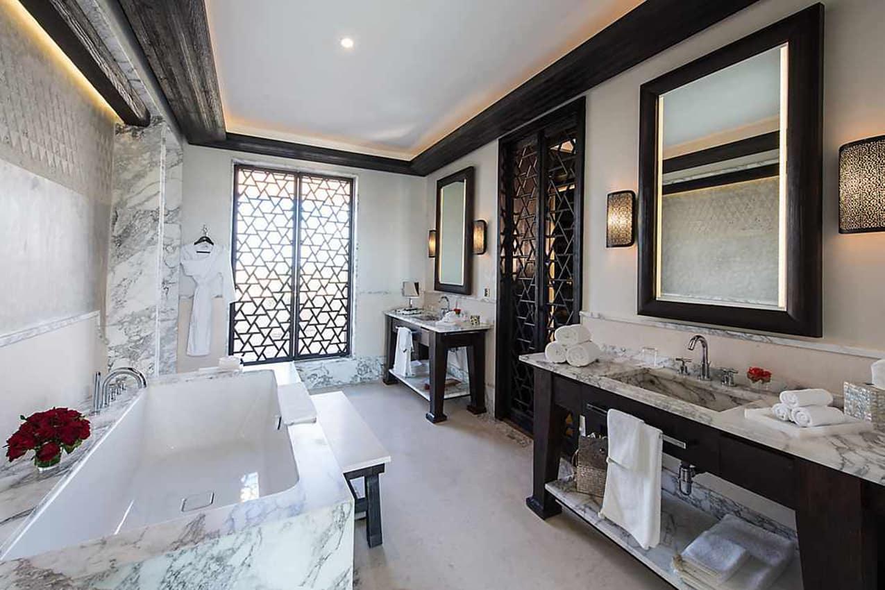 Banheiro Atlas Suite, Mandarin Oriental, Marrakech