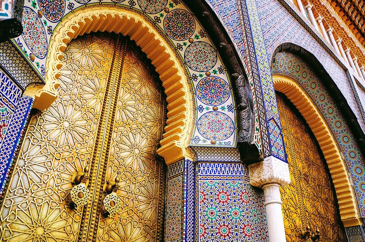 Palácio Real - Rabat, Marrocos.