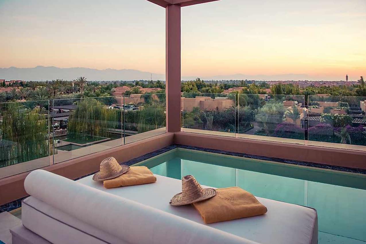Piscina privativa Atlas Suite, Mandarin Oriental, Marrakech