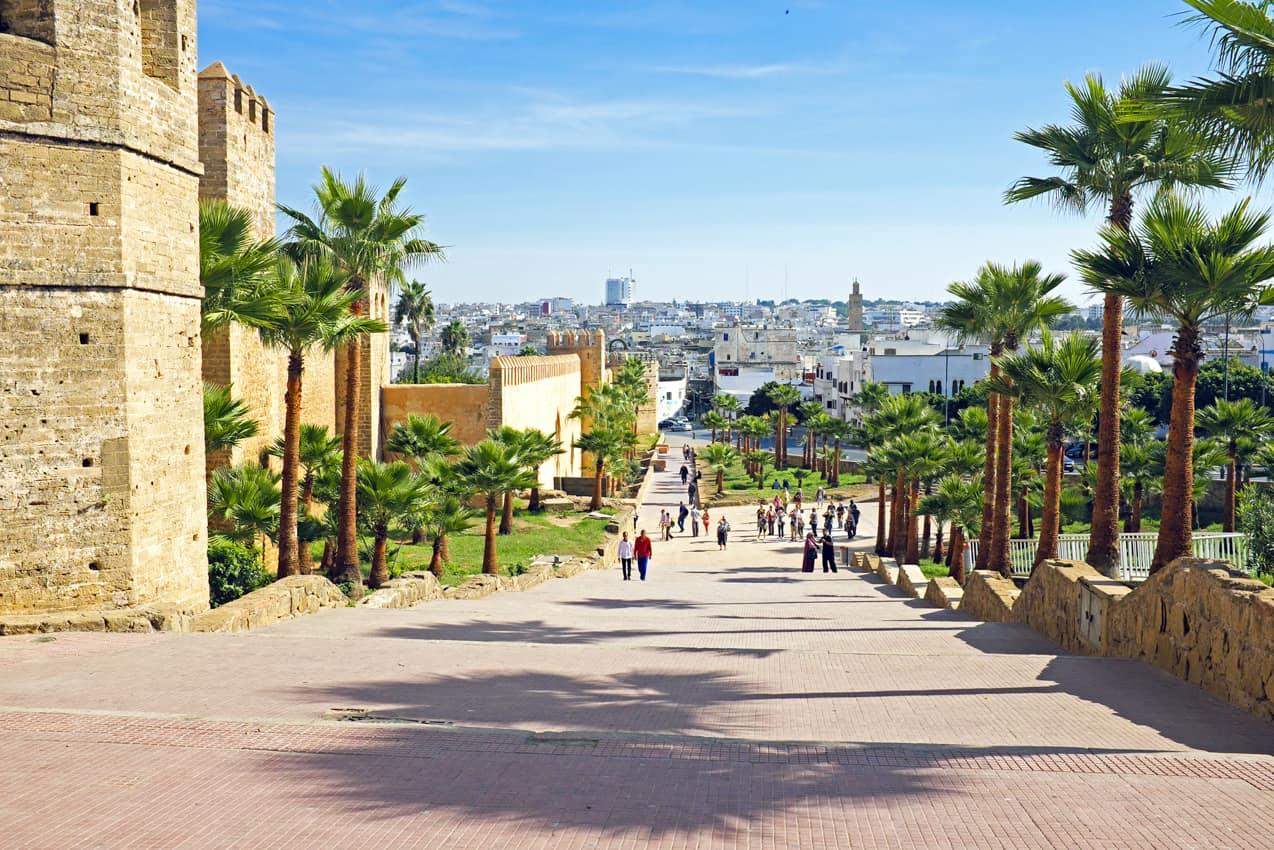Viagem Marrocos, cidade antiga Rabat