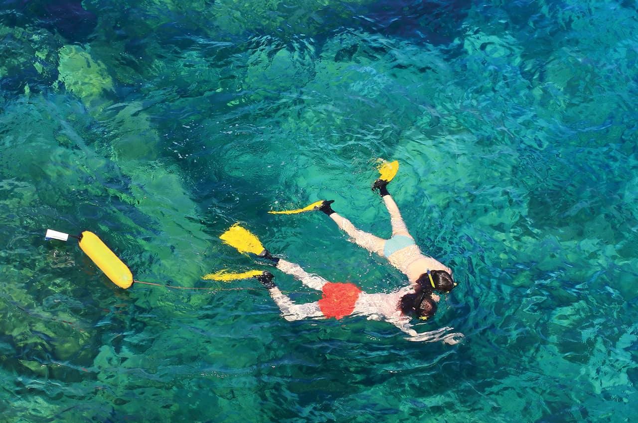 Atividades nas Ilhas Mauricio - Snorkelling