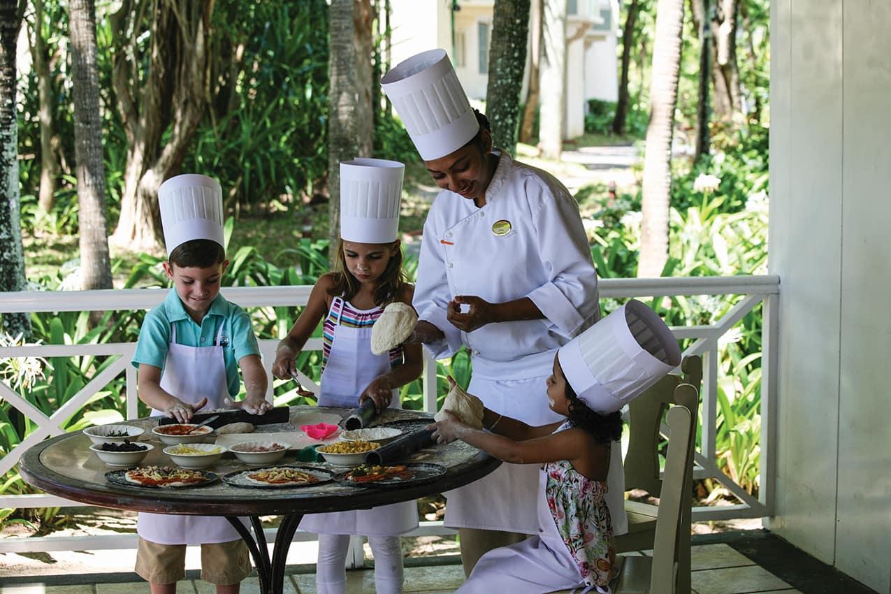 Aula de culinária para crianças, The Residence Mauritius