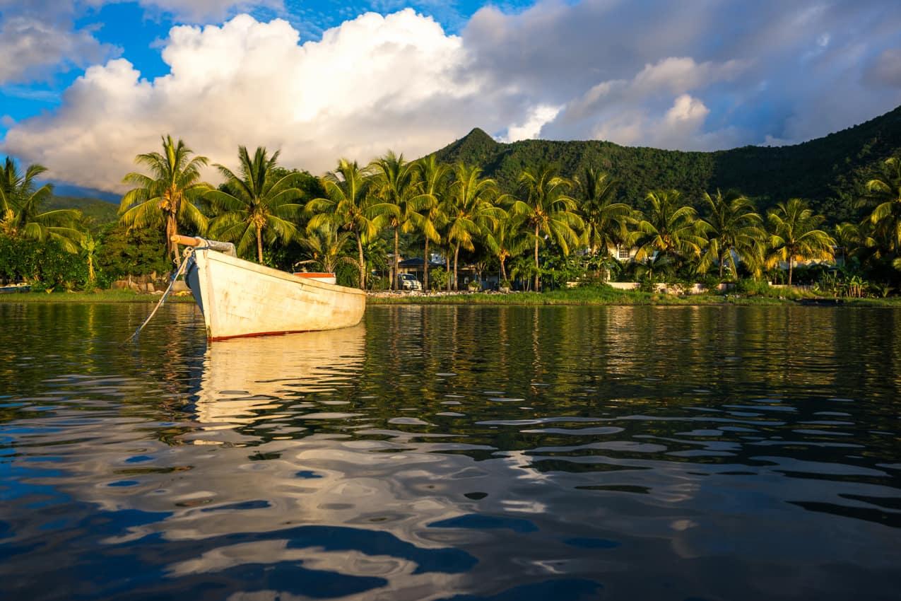 Pacote Ilhas Maurício barco praia