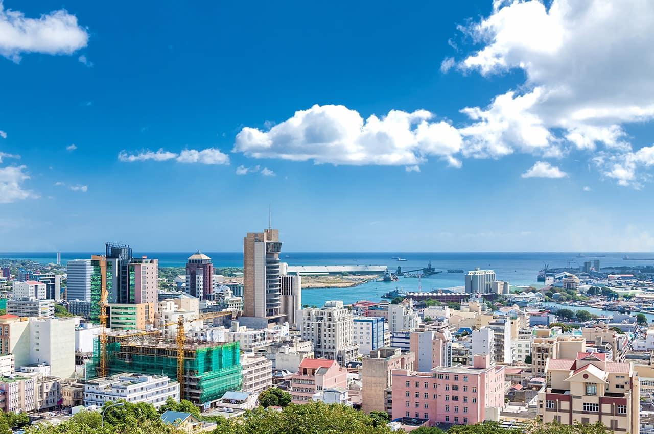 Vista de Port Louis