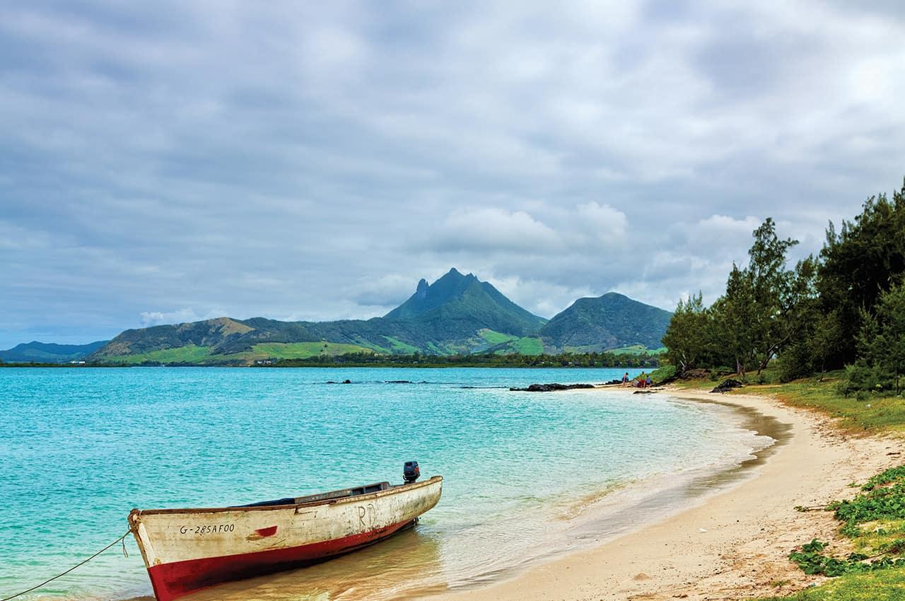 Vista do mar - Ilhas Maurício