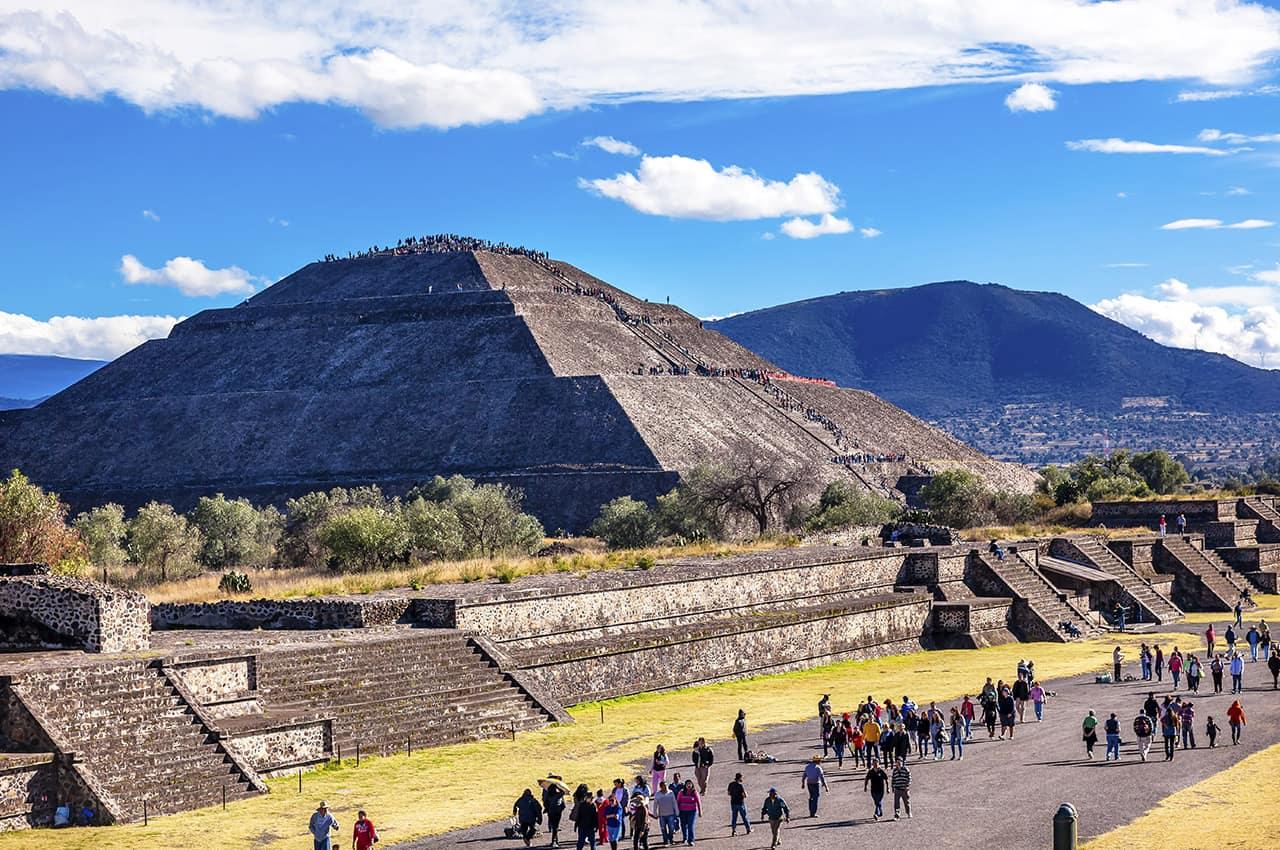 Templo Sol Teotihuacan - Cidade do México