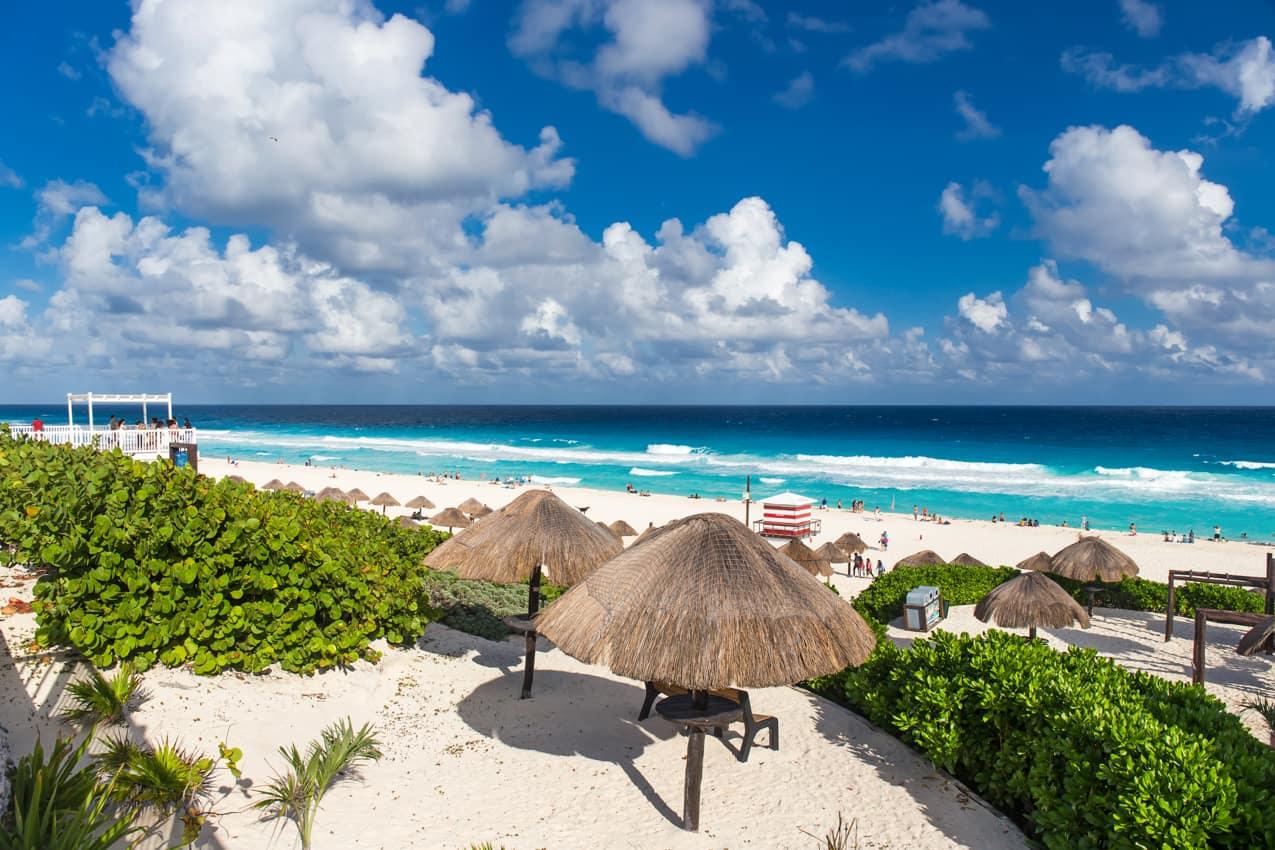 Viagem México: Praia Delfines, Cancún