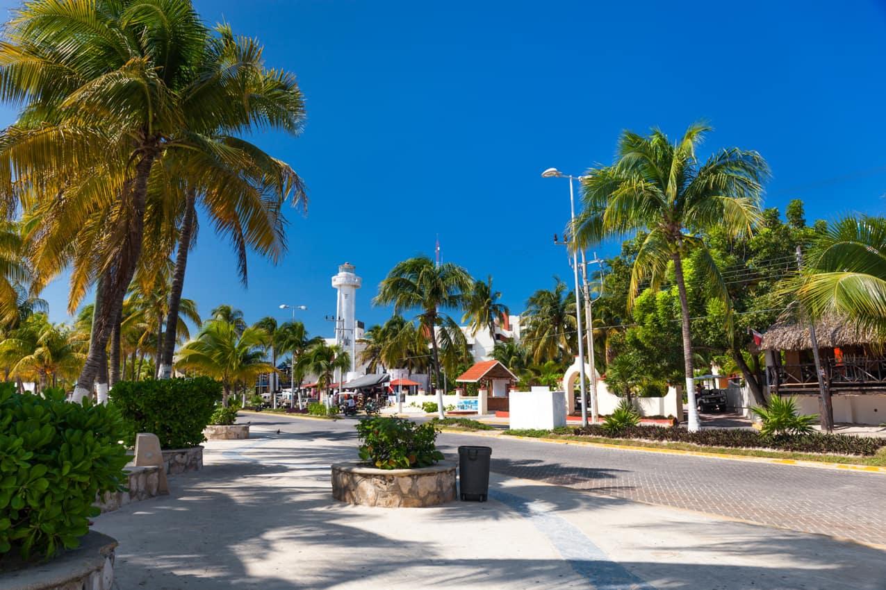Vilarejo Isla Mujeres, México