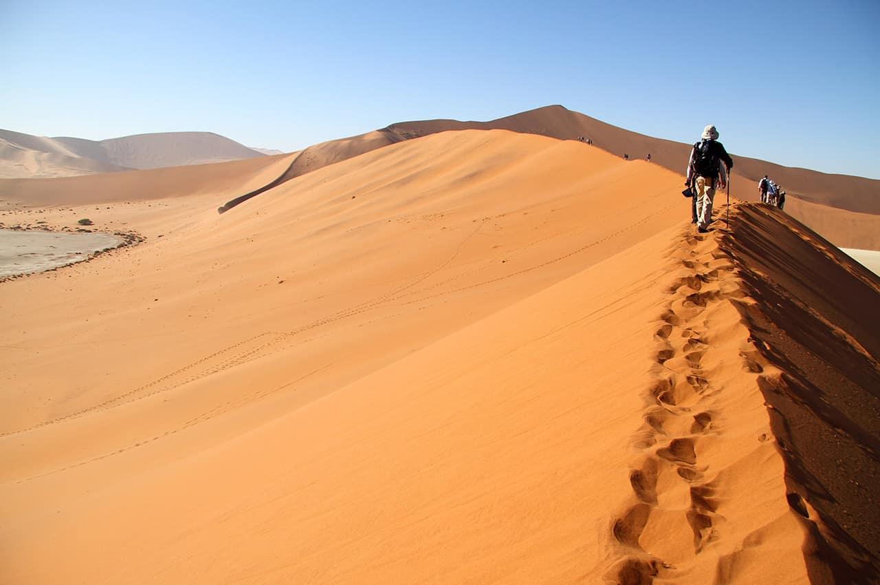 Deserto de Sossuvlei - Namíbia