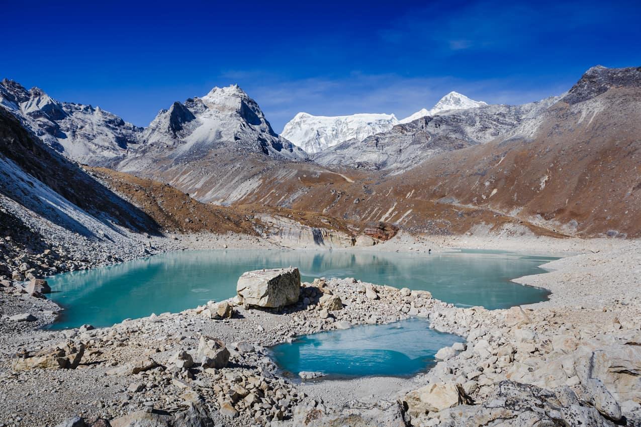 Lago Fifth Gokyo, Himalaia, Nepal