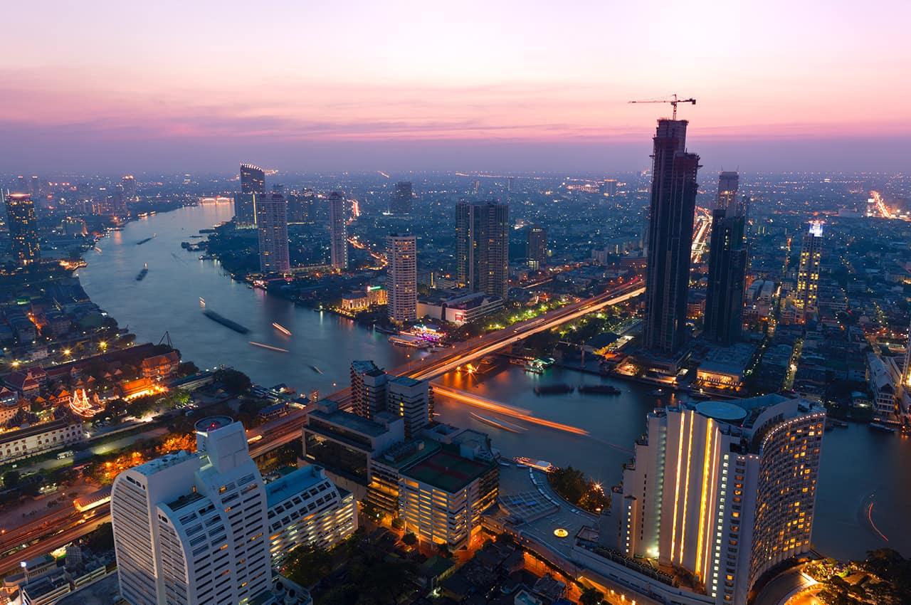 Noite em Bangkok