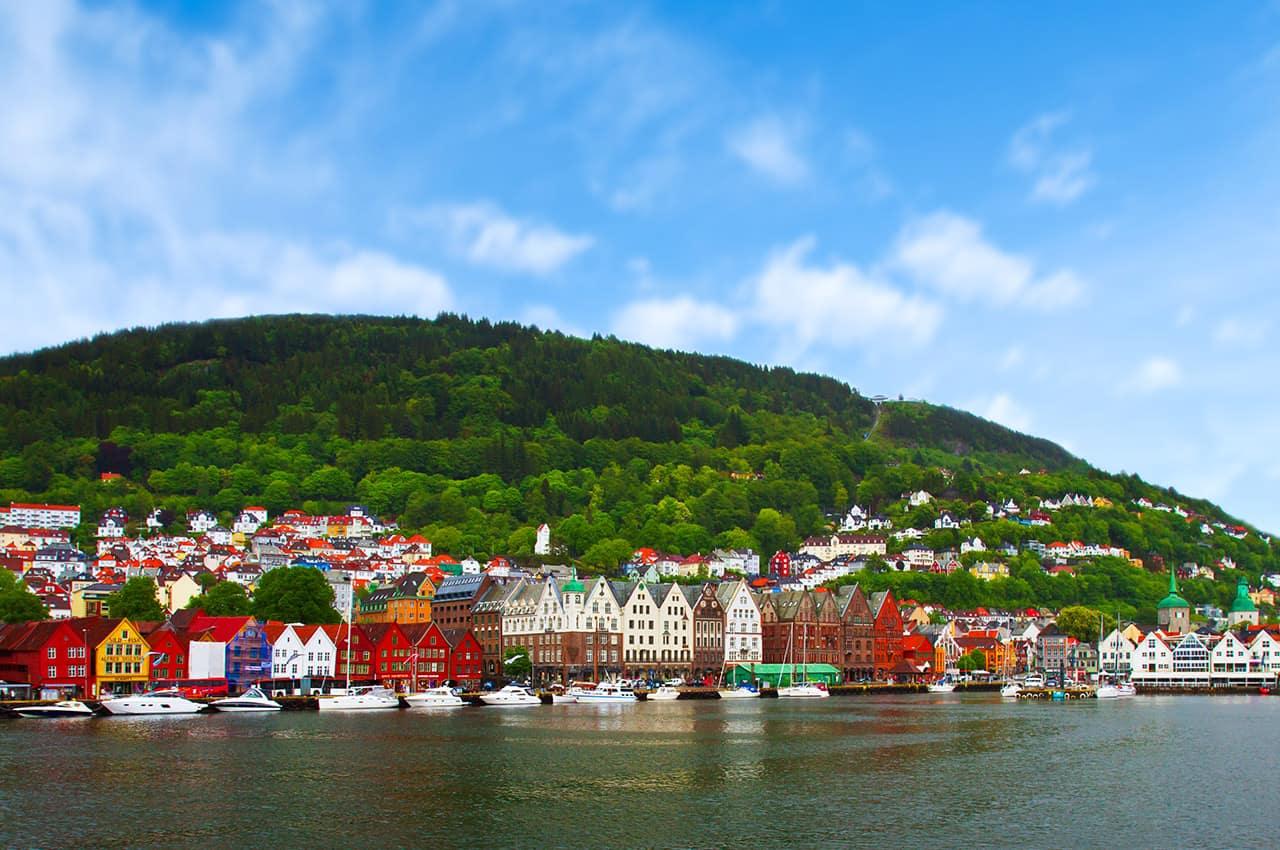 Cidade de Bergen, Noruega