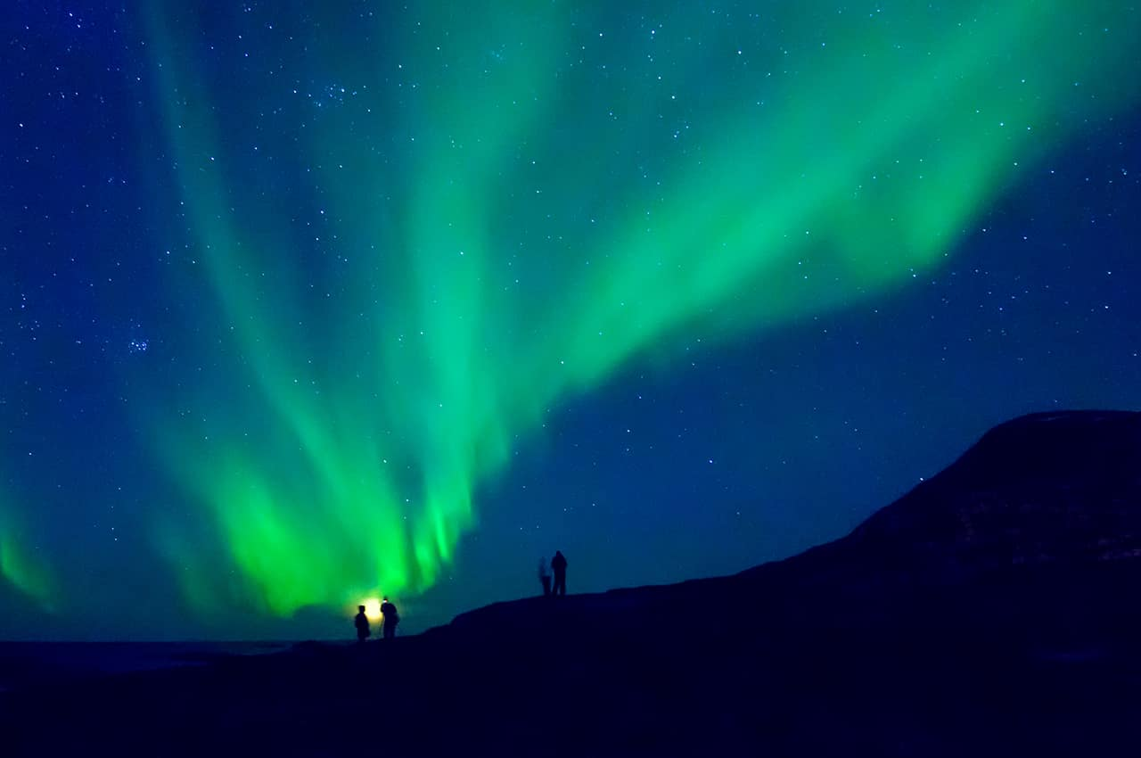 Noruega tromso aurora boreal