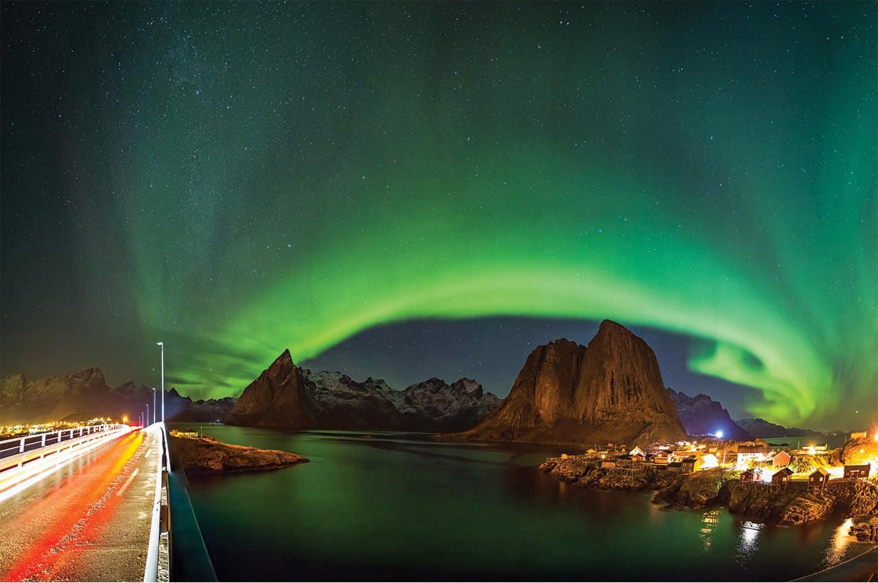 Aurora Boreal em Hamnøy