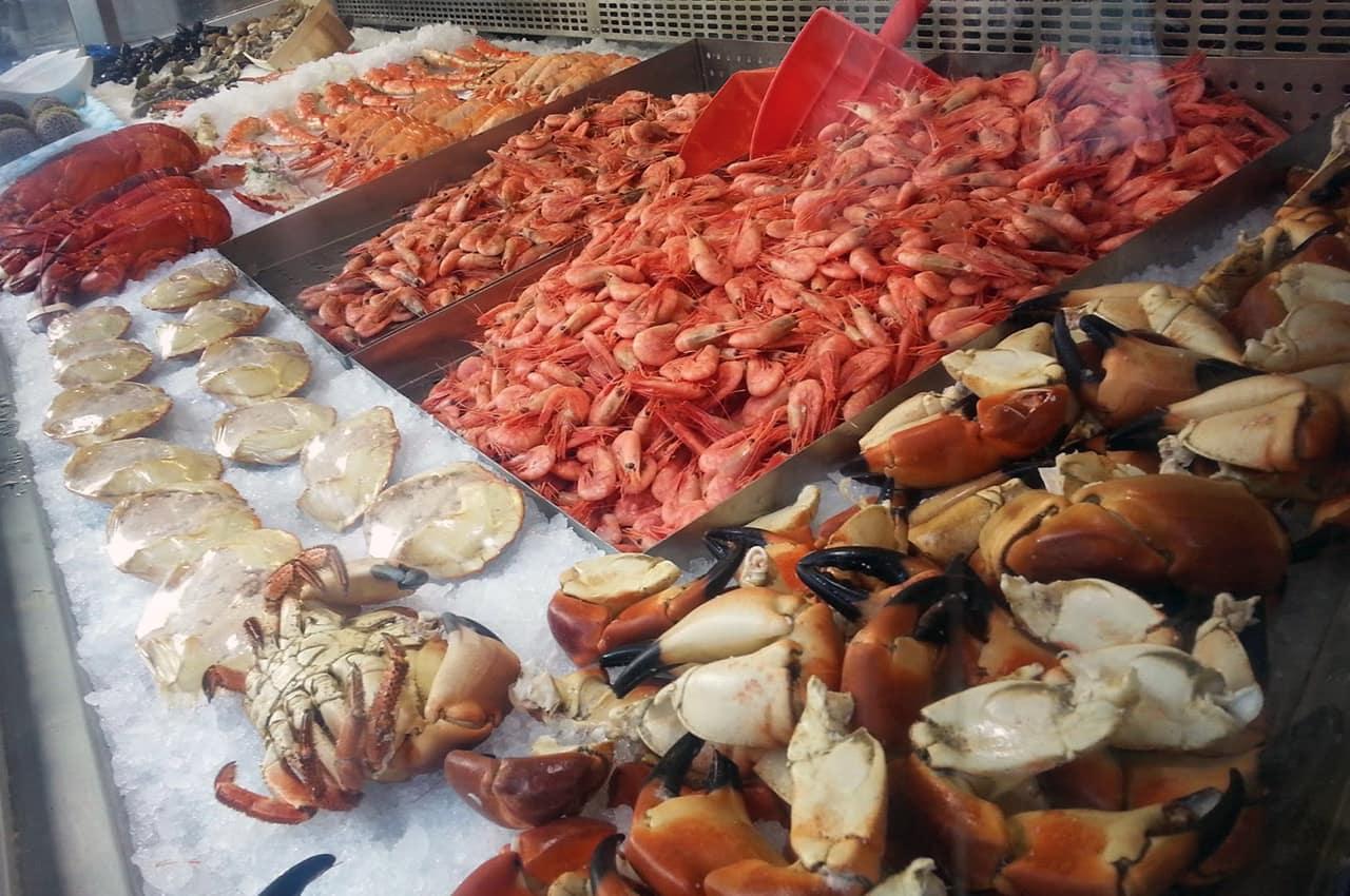 Mercado de peixes de Bergen