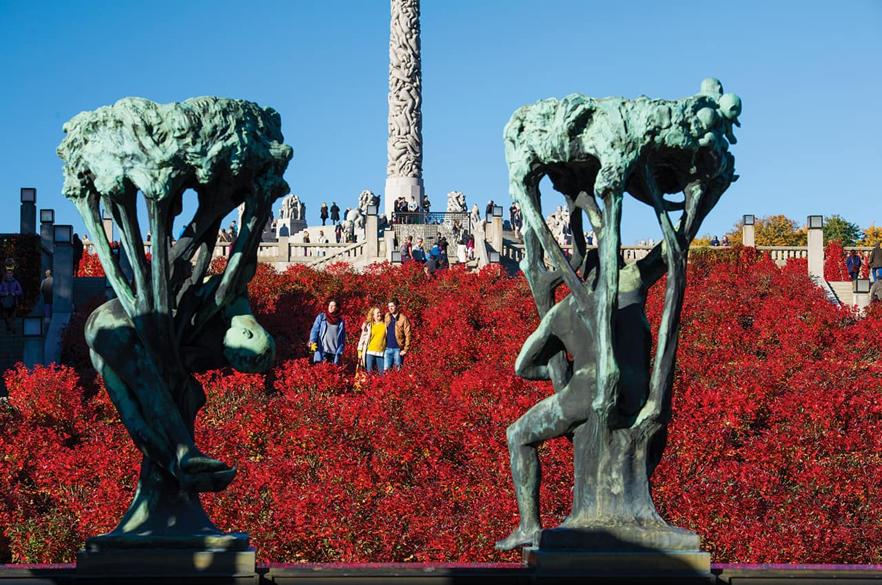 Parque Vigeland em Oslo