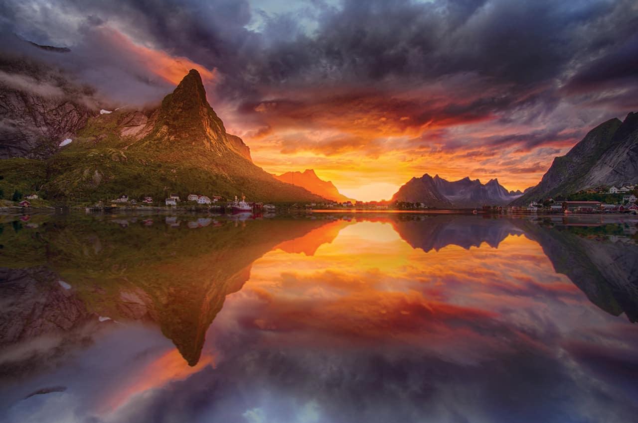 O sol da meia noite - Noruega