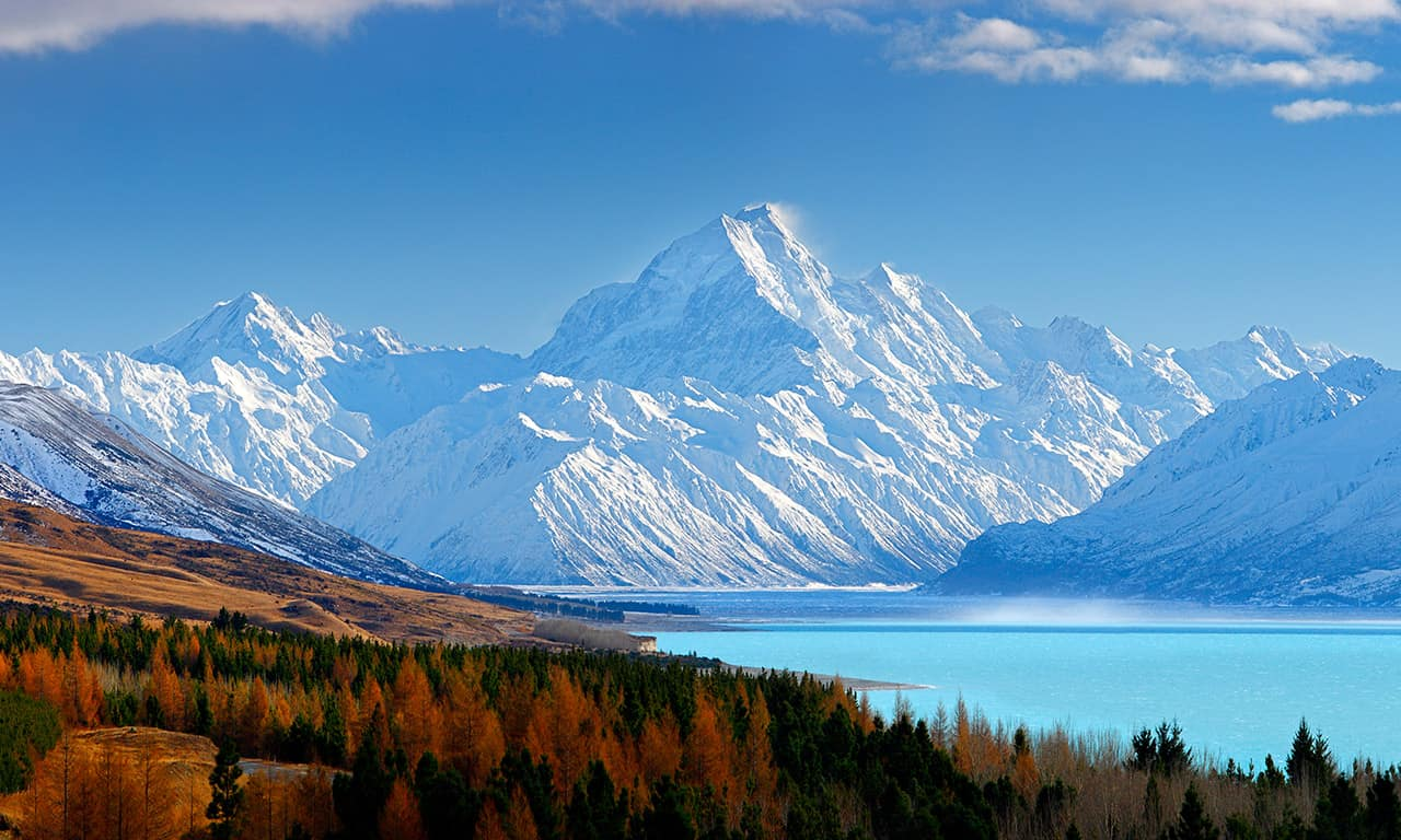 Aoraki/Mount Cook National Park