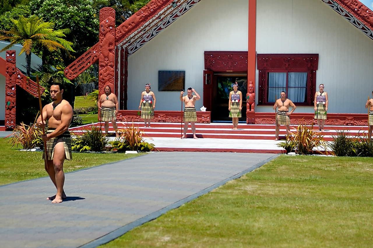 Maoris, Rotorua, Nova Zelândia