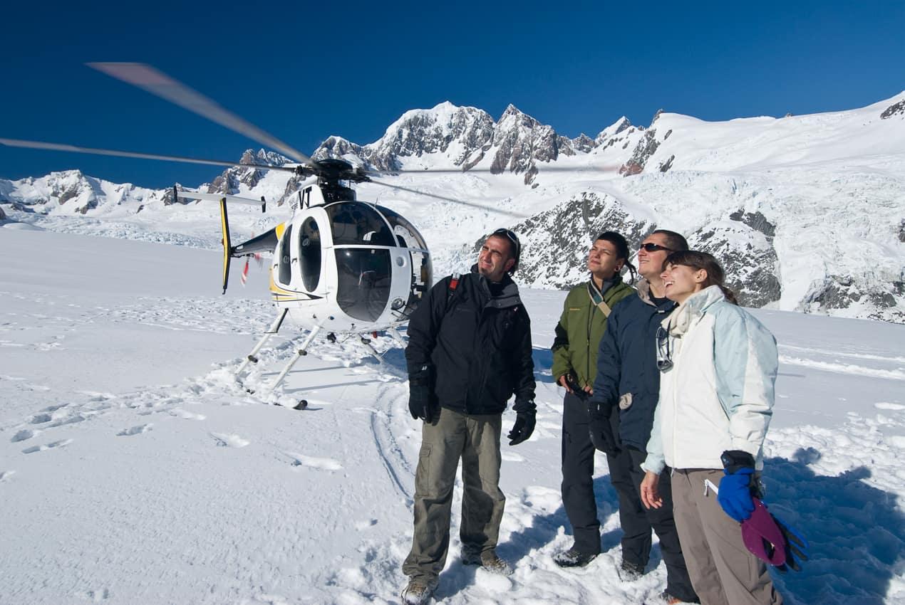 Pacote Nova Zelândia, Fox Glacier