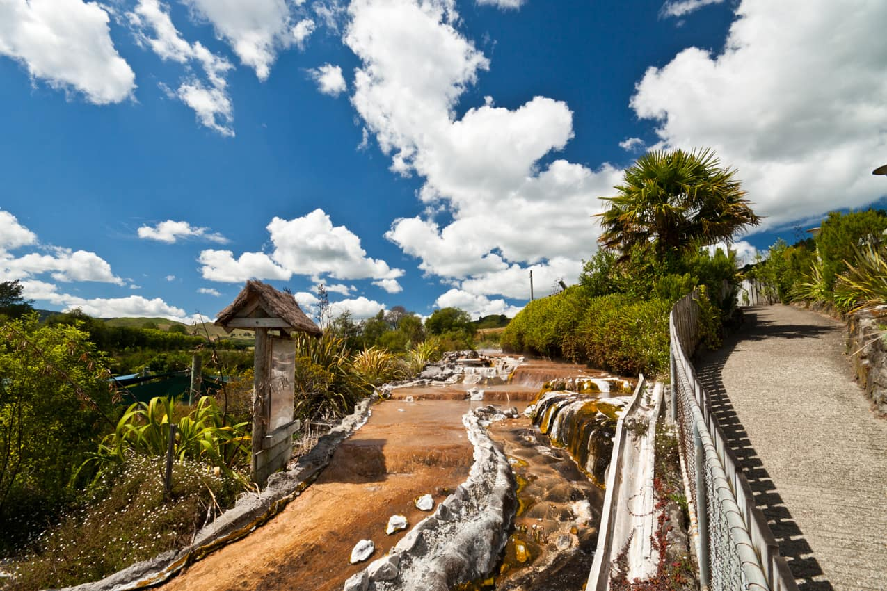 Waiotapu Rotorua, Ilha Norte, Nova Zelândia