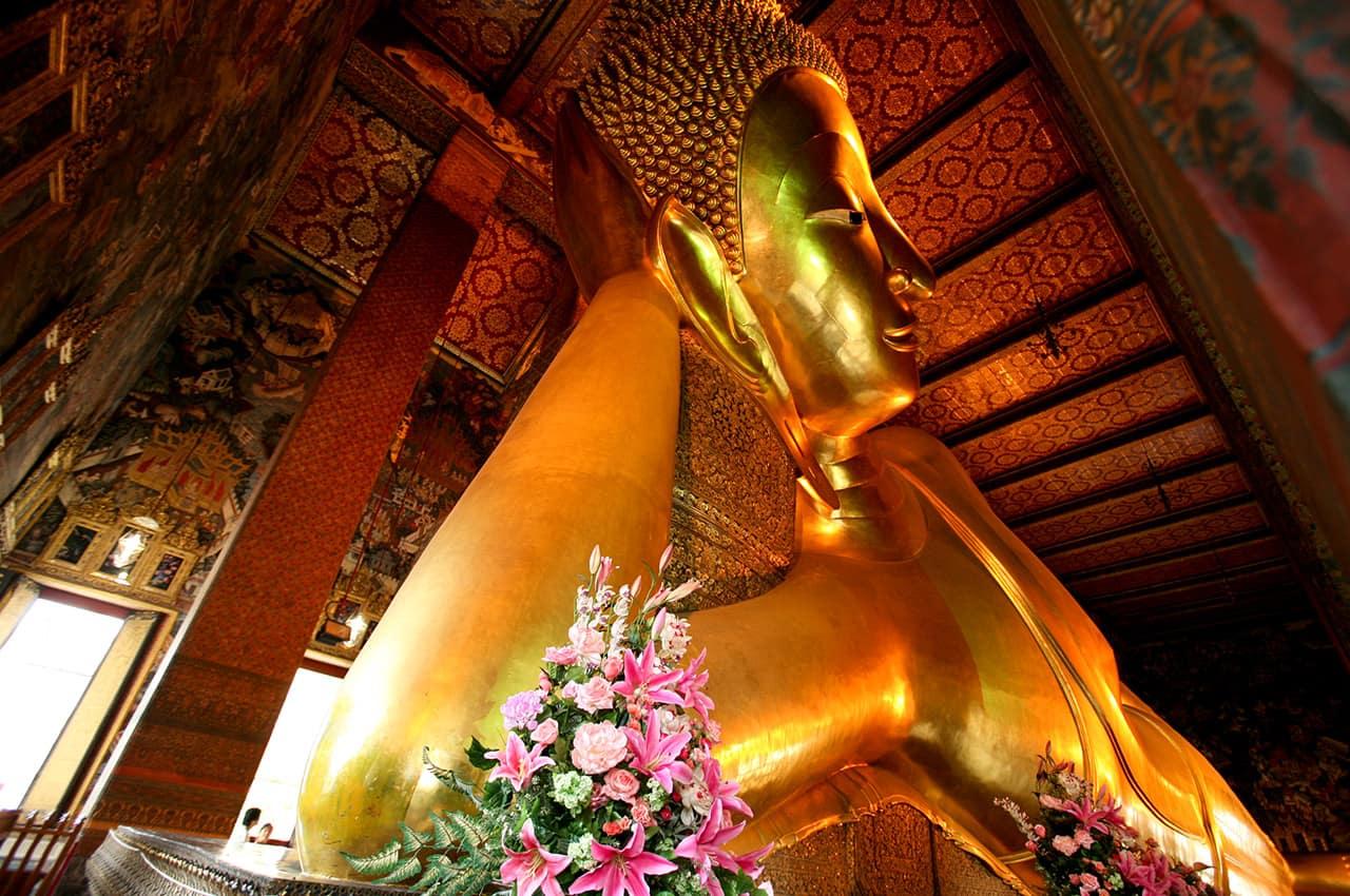 O grande Buda em Wat Pho
