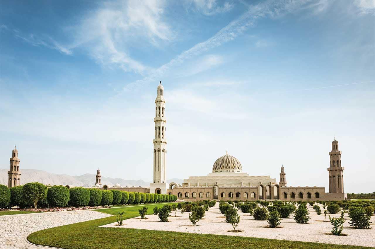 Muscat grande mesquita do sultao qaboos